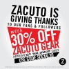 Zacuto Cyber Monday Sale. 30% Off Your Order!