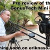GenusTech Mini Jib Pre Review And First Impressions