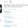 50% off BlackMagic Pocket Cinema Camera now through August 31st