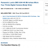 $200 Instant Rebate On Panasonic GH4 Plus Double The Warrenty