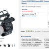 Canon Drops Prices On Cinema EOS Cameras On New Years Day Plus C500 Firmware Uodate