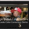 Color Correcting With Magic Bullet Color Suite v.12 Looks