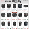 Save BIG on Canon Lenses and Speedlights for a Limited Time.