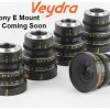 Veydra Mini Primes gets new Sony E and C Mount Options