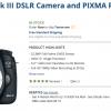Canon EOS 5D Mark III DSLR Camera and PIXMA PRO-100 Printer Kit $2,149.00