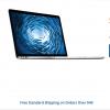 $700.00 OFF! Apple 15.4″ MacBook Pro Notebook Computer with Retina Display (Mid 2014)