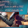 ErikNaso.com HOLIDAY GIVEAWAY! Enter to WIN a RODE VideoMic Me.