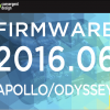 Firmware 2016.06 adds 23 New Features for Apollo, Odyssey7Q+, Odyssey7Q, and Odyssey7
