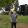 Demo: Aputure Light Storm LS 1S Outside on a Cloudy Day