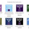 New Rampant Design Customizable Templates For Premiere Pro