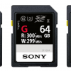 Sony Breaking The Speed Limit With New SF-G Series SD Cards