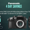 SAVE up to $1000 on Panasonic MFT Cameras: GH4, GH4 with 12-35 & DMC-GX85