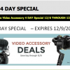 B&H 4-day sale has discounts on a variety of gear