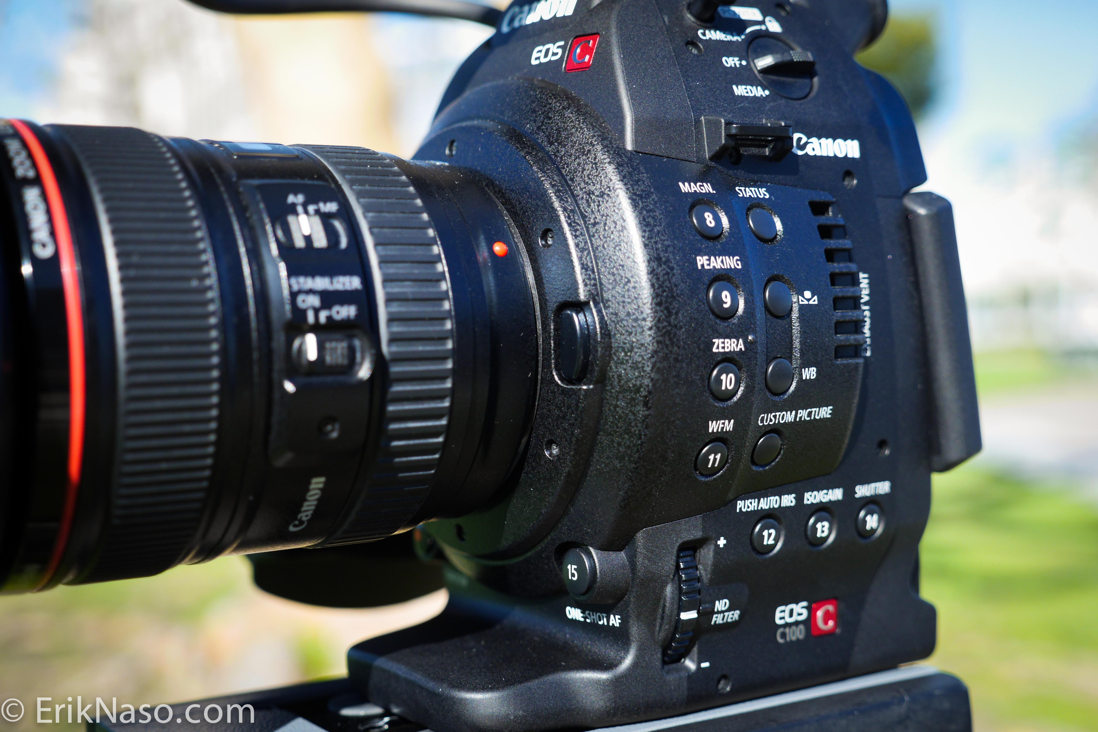 Canon C100 Hands On Review |