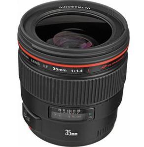 Canon EF 35mm f/1.4L USM Wide-Angle Autofocus Lens