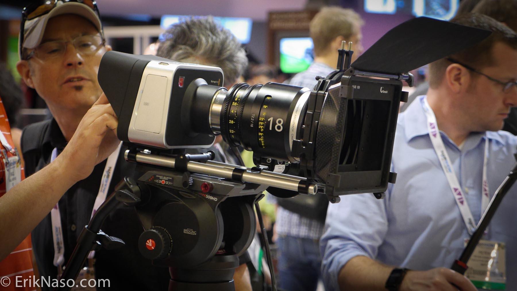 4k Global Shutter Blackmagic Camera
