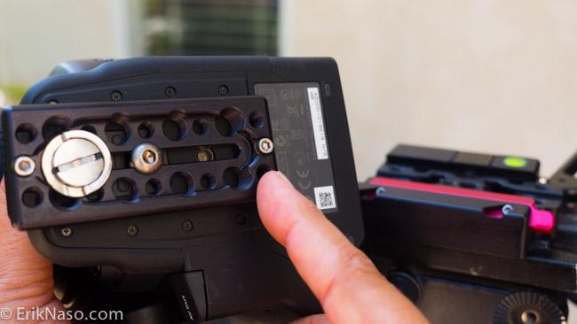 Kessler Kwik Release Camera Plate