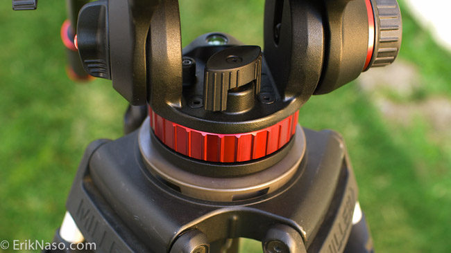Manfrotto 502 pan lock
