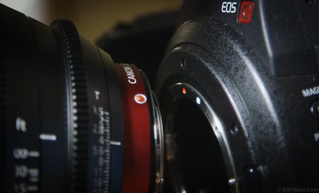 CN-E Prime RED dot