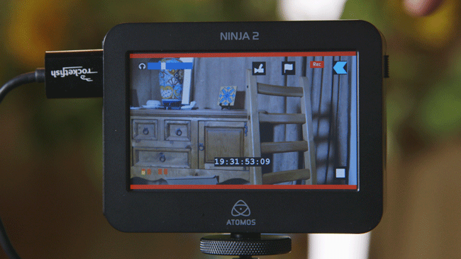 Setting Up The Canon C100 To Use With The Atomos Ninja 2