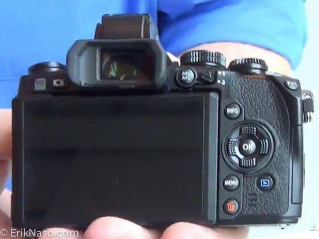 Olympus OM-D E-M1_back LCD