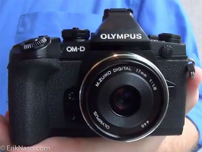 Olympus OM-D E-M1_front