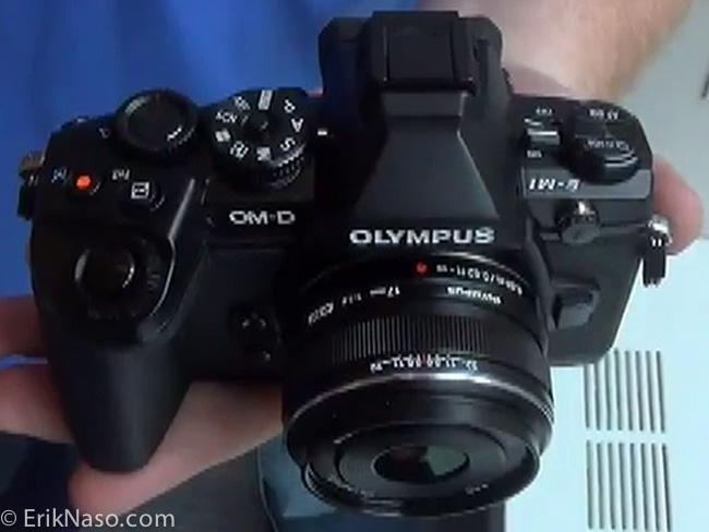 Olympus OM-D E-M1_top