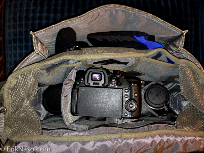 Retrospective 7 GH3 Kit Camera in The Bag