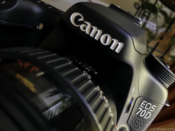 Canon 70D logo