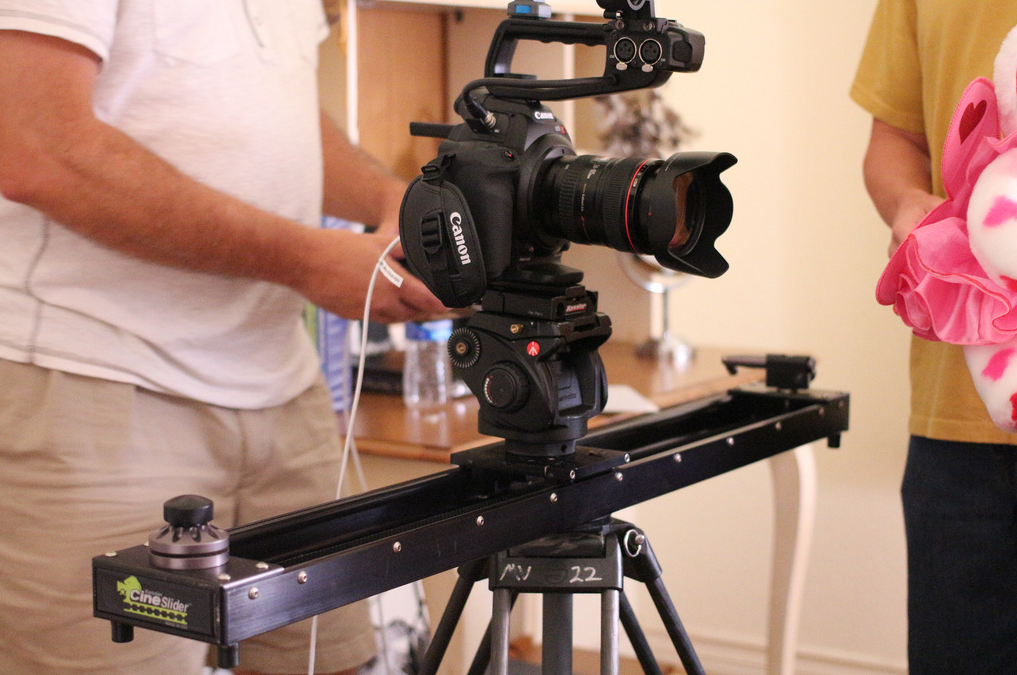 C100 with Kessler CineSlider