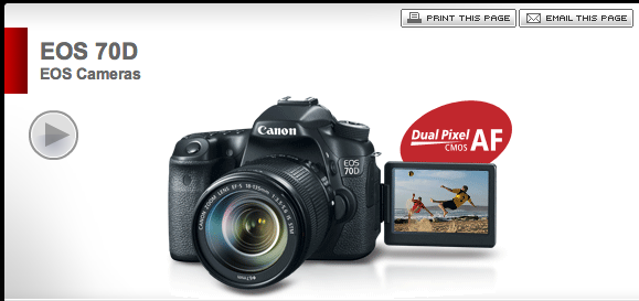 Click here to see the Canon 70D full specifications.