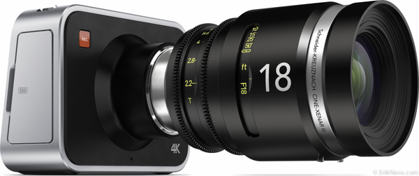 BMD 4K left lens side