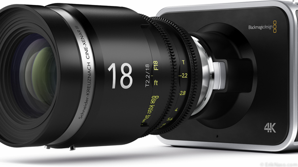 BMD 4K lens right