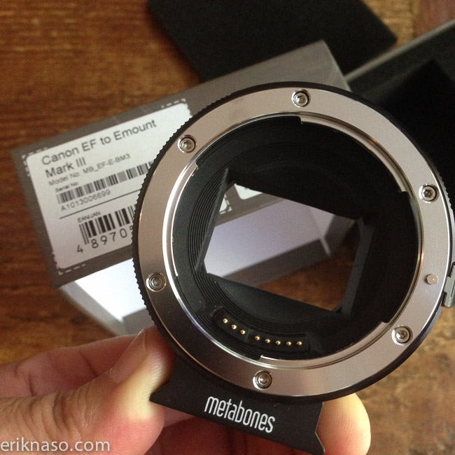 Metabones EF to E Mount