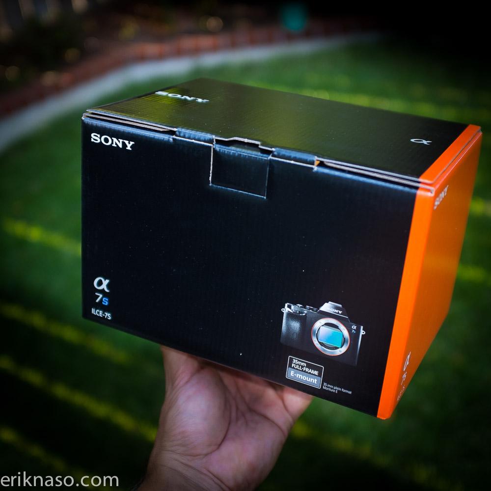 Sony A7s Box