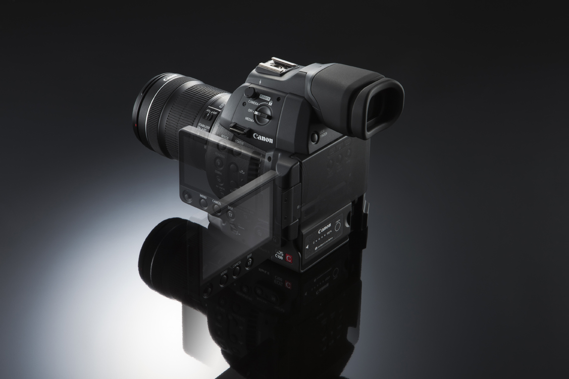 Canon U S A  Announces the Second-Generation EOS C100 Mark II With