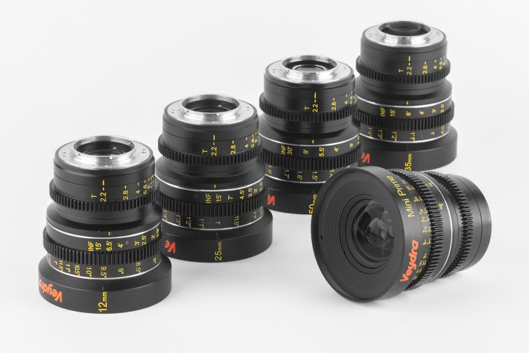 Veydra Cinema Lenses