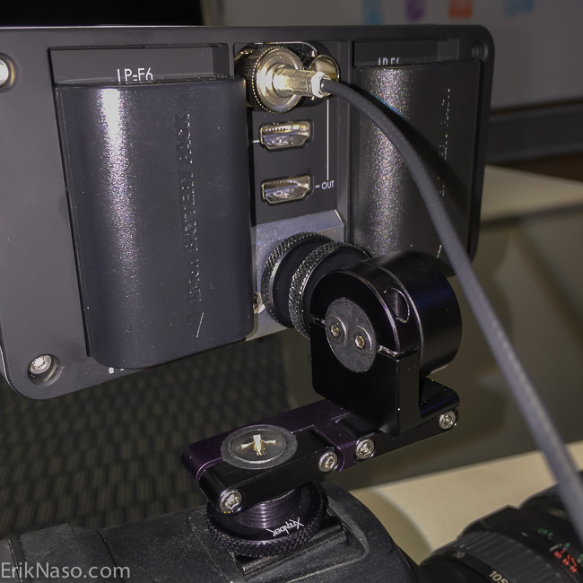 SmallHD 502_C300 2 Shot
