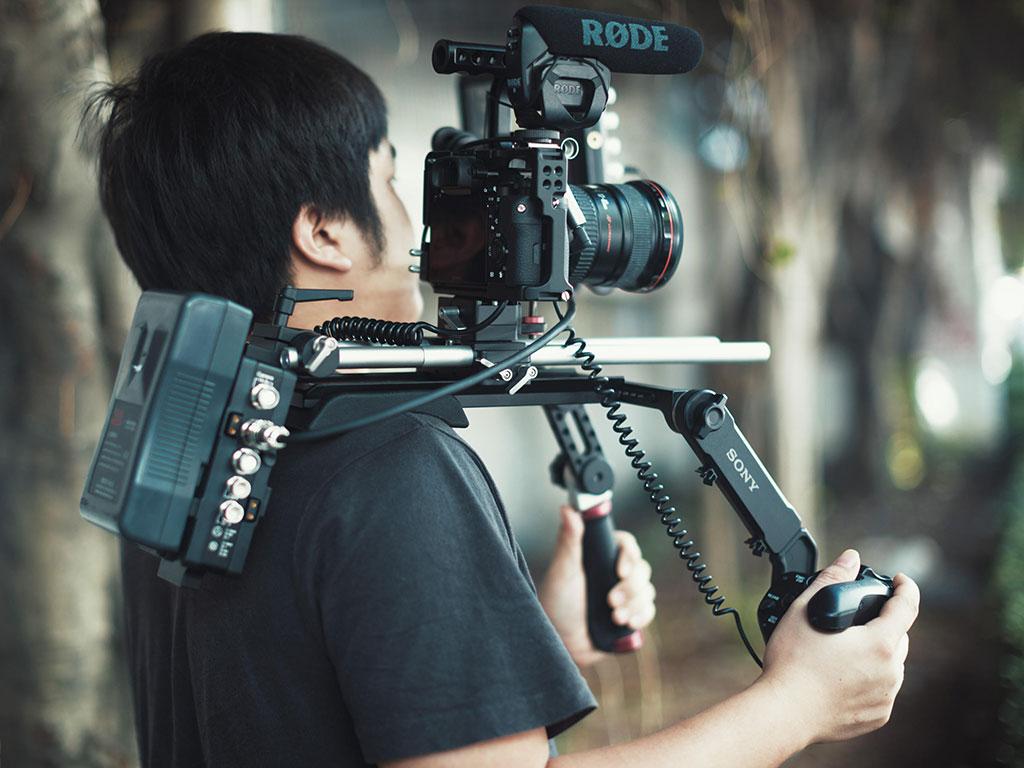 Movcam lanc with Sony grip