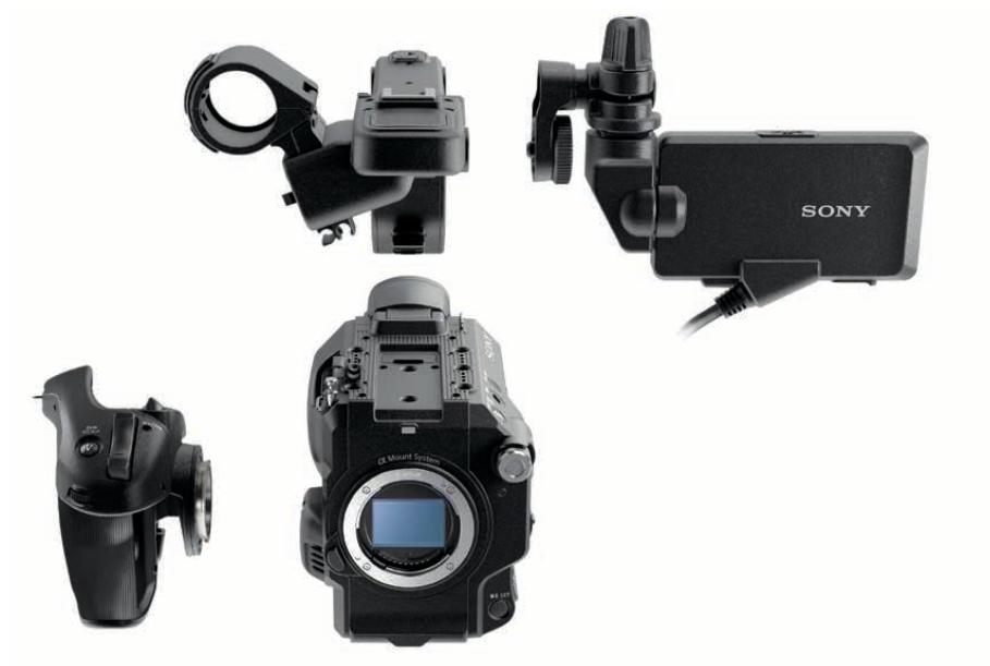 Sony FS5 Modular design