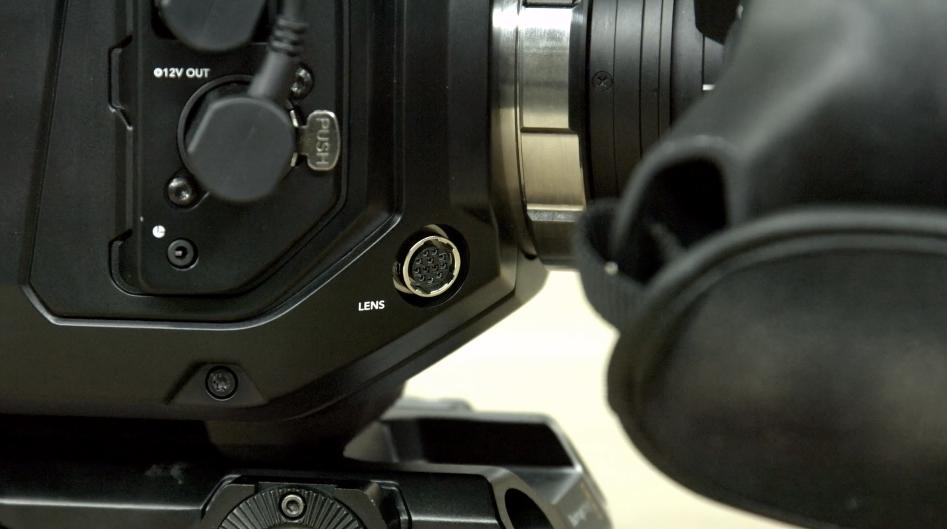 URSA Mini Lens Input
