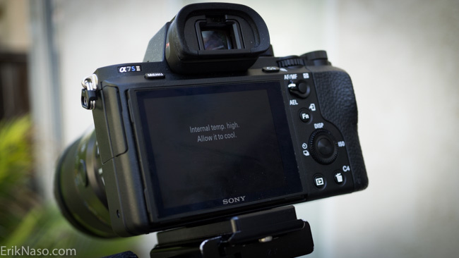 Does the Sony a7s II Overheat? I Put the Camera to the Test |