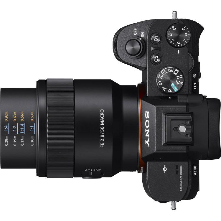 FE 2.8 Macro on Camera
