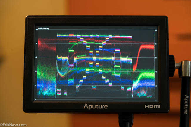 Aputure VS5_ Waveform