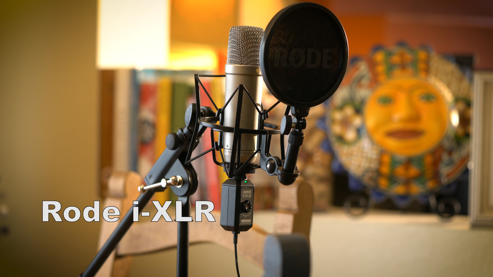 Rode I Xlr With Rode Nt1 A Microphone Makes Great Sounding