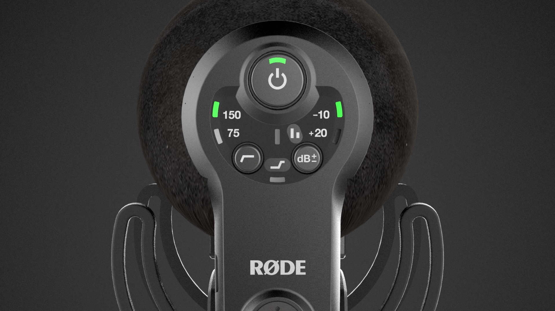 Rode VideoMic Pro+ Settings