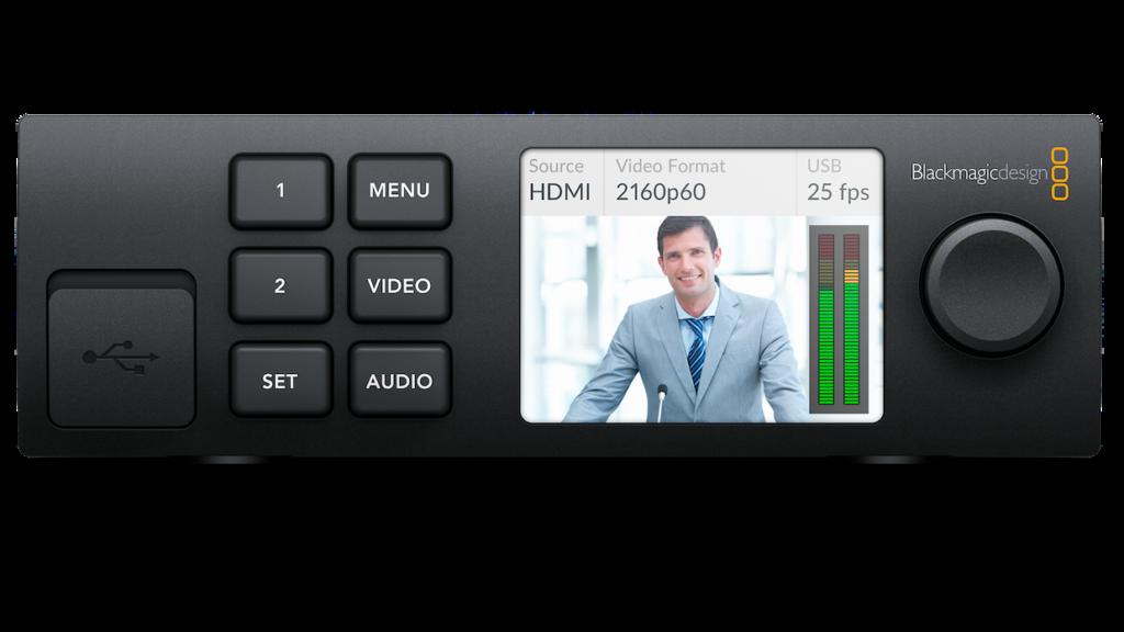 Blackmagic Design S New Web Presenter Makes Any Sdi Hdmi Camera A Webcam