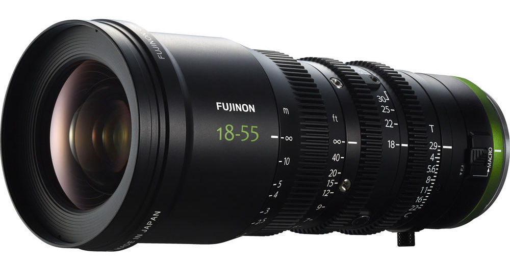 Fujinon Fujinon MK18-55mm T2.9 Lens (Sony E-Mount)