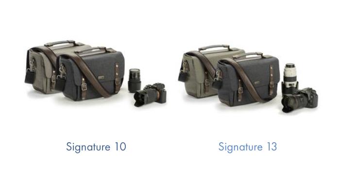The Think Tank Signature 10 and Signature 13 camera bags
