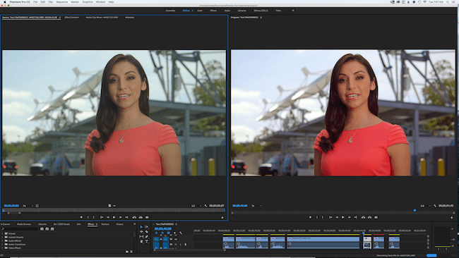 C300 Green Cast Issue side by side